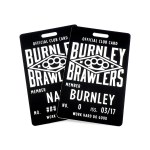 Burnley Brawlers Collectors Card