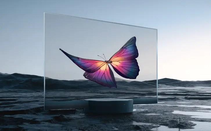 Mi TV LUX Transparent TV