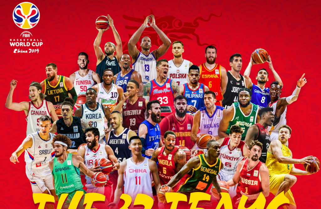 FIBA Basketball World Cup 2019's 32-team field complete | BurnSports.Ph