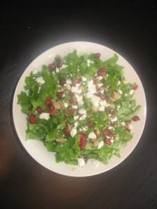 Pomegrante Salad