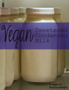 Vegan Sweetened Condensed Milk