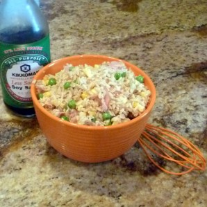 Healthy Ham Fried Rice