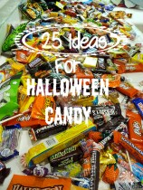 25 Ideas for Using Up Halloween Candy