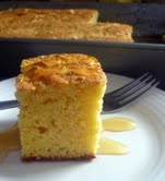 Rosemary Topped Cornbread