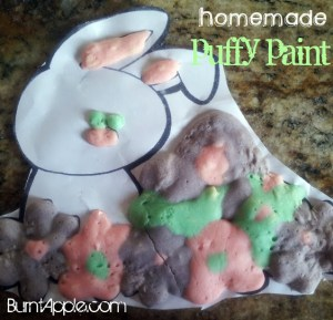 {Trying it Tuesday} Homemade Puffy Paint