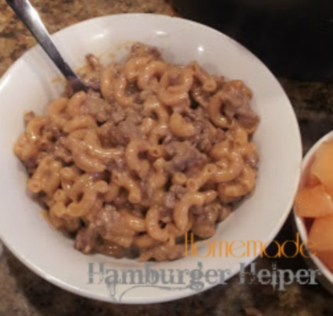 Hamburger Helper Dinner