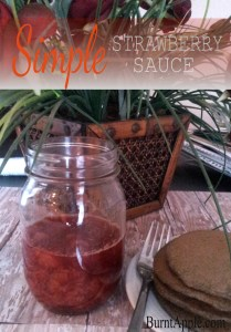 strawberry sauce recipe