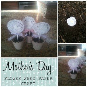 Flower Seed Paper Bouquet {Mother's Day}