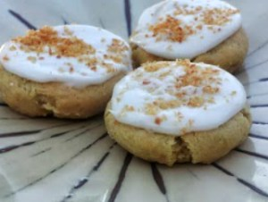 Gluten Free Lemon Coconut Cookies