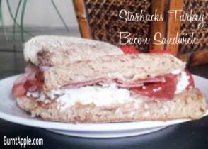 starbucks sandwich