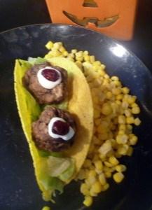 monster eye tacos