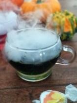 Hauntingly Healthy Halloween Drink