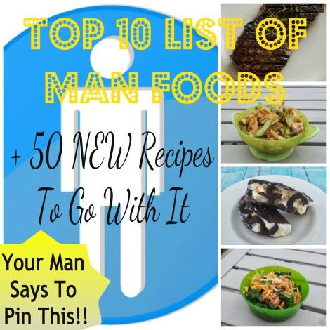 mens favorite foods