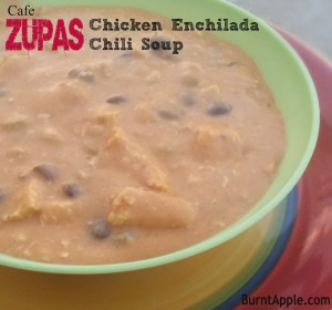 Zupas Chicken Enchilada Chili Soup