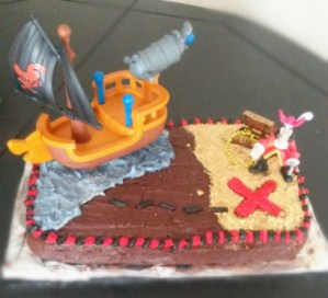 Easy Pirate Birthday Cake (With Hidden Treasures, Arrr!)