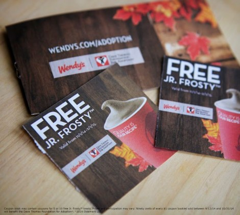 jr frosty coupon books