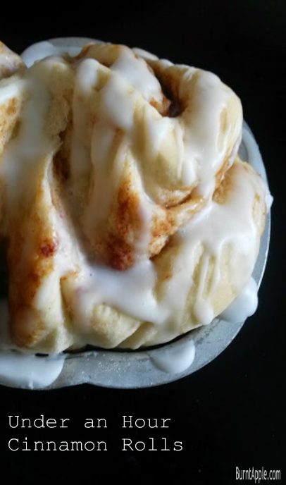 fast cinnamon rolls
