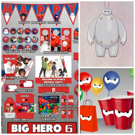 big hero 6 decorations