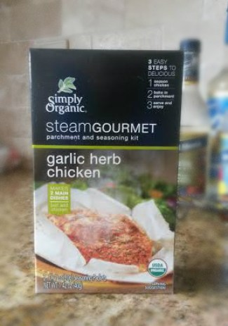 simply organic steam gourmet