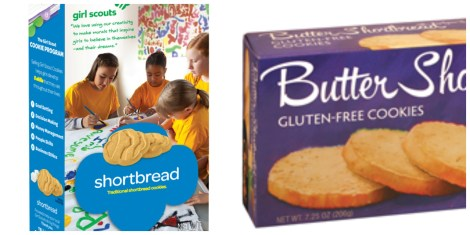 girl scout shortbread