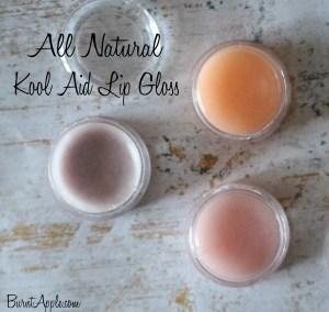 Natural Kool Aid Lip Gloss