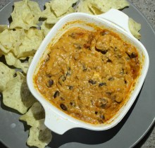 Easy Enchilada Dip + Almost Done!