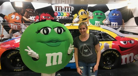 green m and m