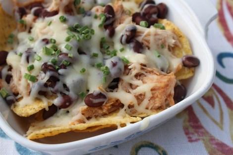 barbeque chicken nachos