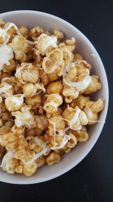 apple cider popcorn