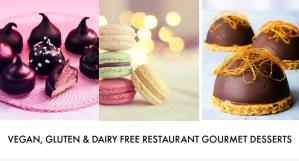 vegan gluten dairy free gourmet dessert