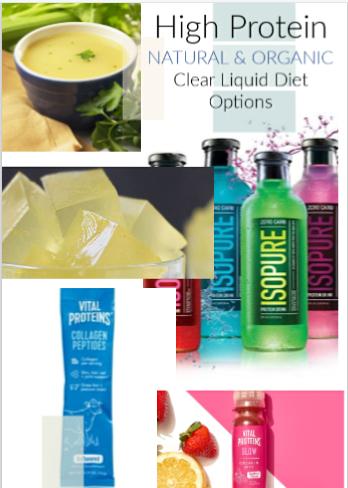 will clear liquid diet clean intestines