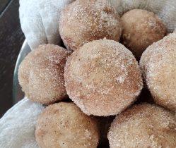 snickerdoodle donut