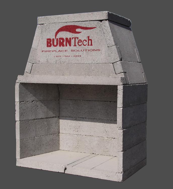 outdoor masonry brick fireplaces