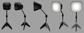 Star Trek Mobile - Light Stand