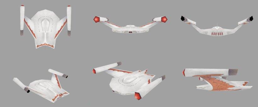 Star Trek Mobile - Romulan Ship