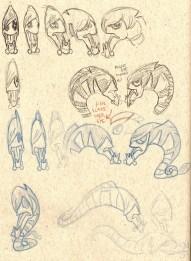 Emo Eel Sketches2