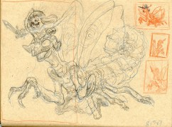 Mantis Knight Sketch 3