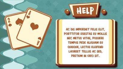 Scientific Games - Card Sharks - Help Screen