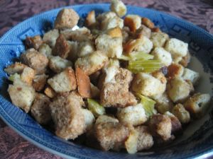 Underappreciated bread stuffing