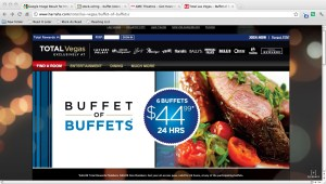 Buffet of Buffets promo sign