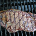 CAB sirloin on the grill