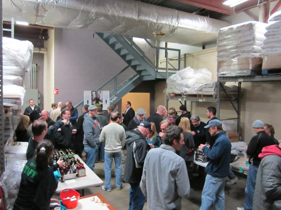 Beer Crowd at Saratoga Beer Week