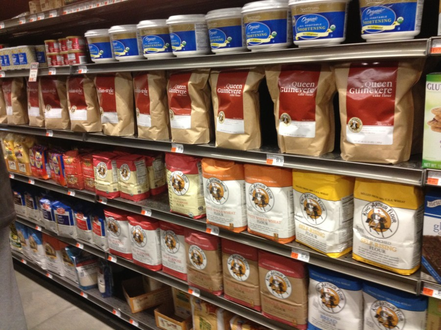 King Arthur flours at Healthy Living