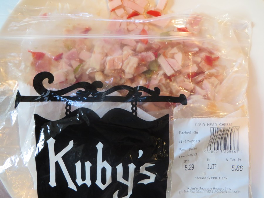 Kuby's Sour Head Cheese