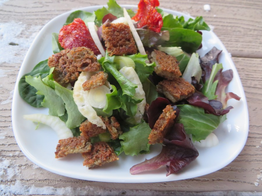 Scrapple Salad