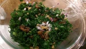 Hotel Kale Salad Finished
