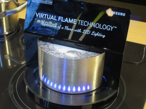 Samsung LED virtual flame
