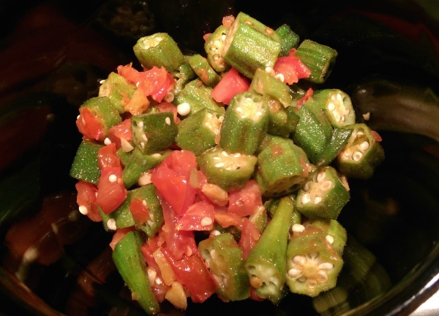 Okra after Suzanne Watson-Fisher