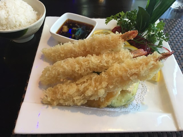 Tempura at Kinjo Japanese Steakhouse