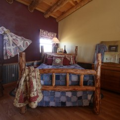 Day Night Sleeper Sofa White Denim New Mexico Vacation Rental - The Casita Burnt Well Guest ...